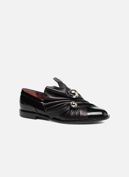 Loafers Carven Rosa Sort detaljeret billede af skoene