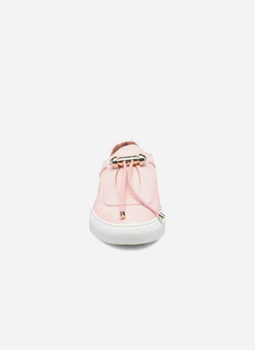 Baskets Carven Mabillon Rose vue portées chaussures