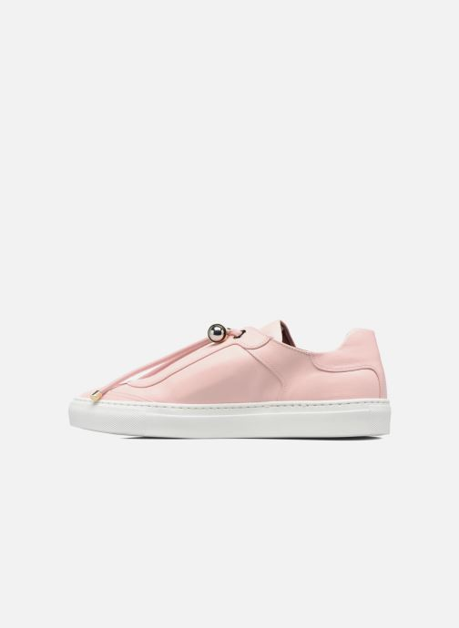 Baskets Carven Mabillon Rose vue face