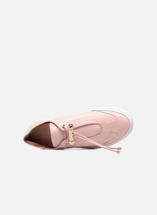 Baskets Carven Mabillon Rose vue gauche