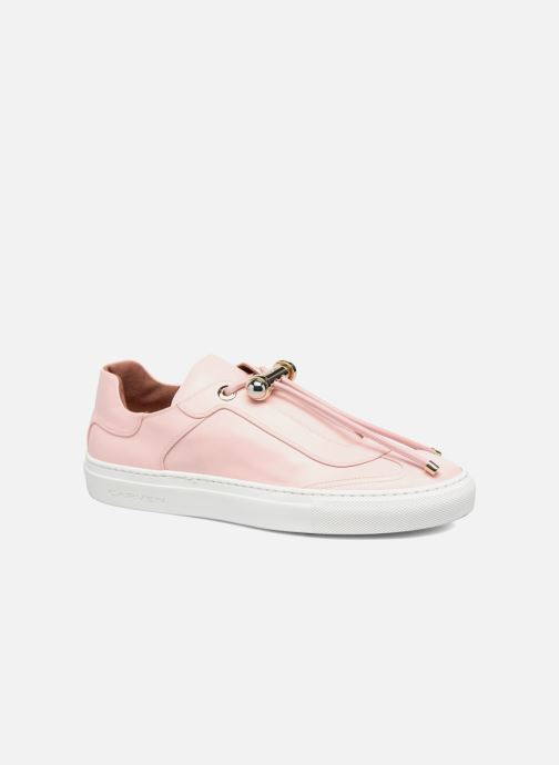 Baskets Carven Mabillon Rose vue détail/paire