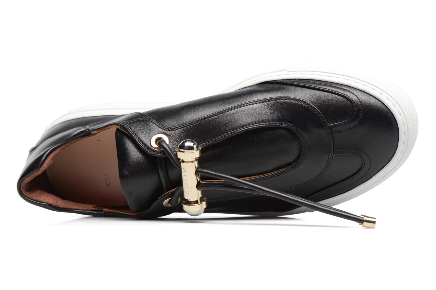 Trainers Carven Mabillon Black view from the left