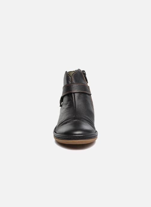 Ankle boots El Naturalista E830 Nayade Black model view