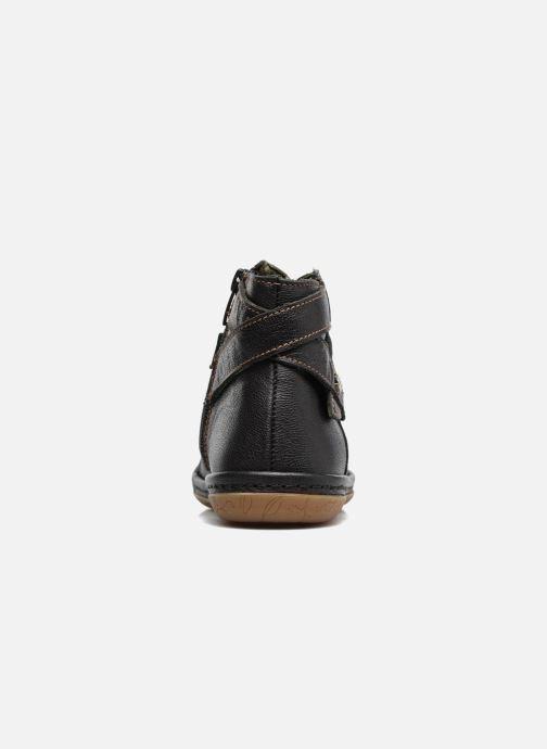 Boots en enkellaarsjes El Naturalista E830 Nayade Zwart rechts