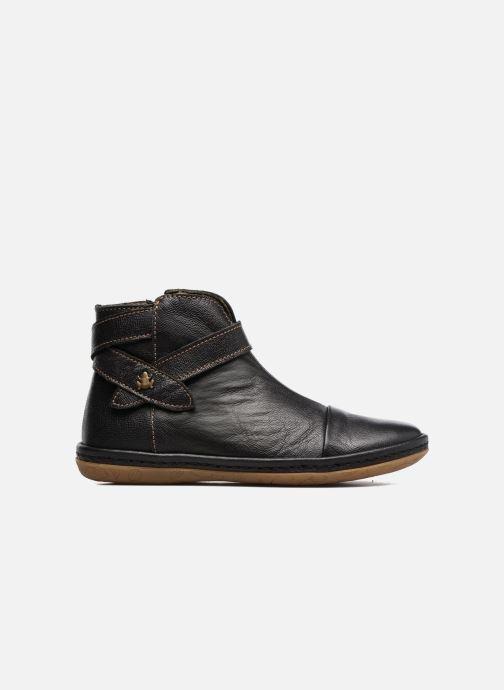 Ankle boots El Naturalista E830 Nayade Black back view