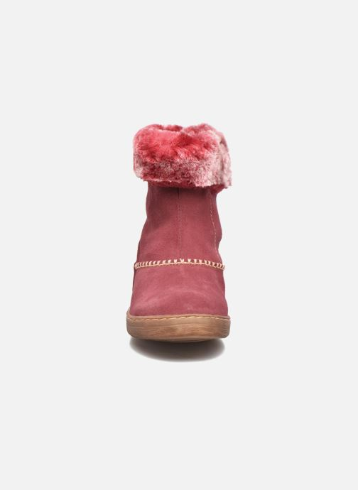 Bottes El Naturalista E064 Kepina Bordeaux vue portées chaussures