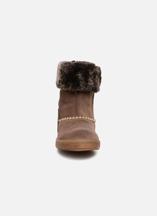 Boots & wellies El Naturalista E064 Kepina Brown model view