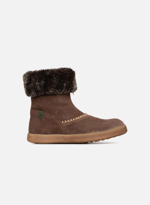Boots & wellies El Naturalista E064 Kepina Brown back view