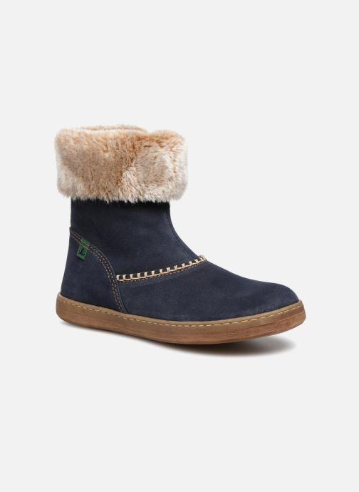 Boots & wellies El Naturalista E064 Kepina Blue detailed view/ Pair view