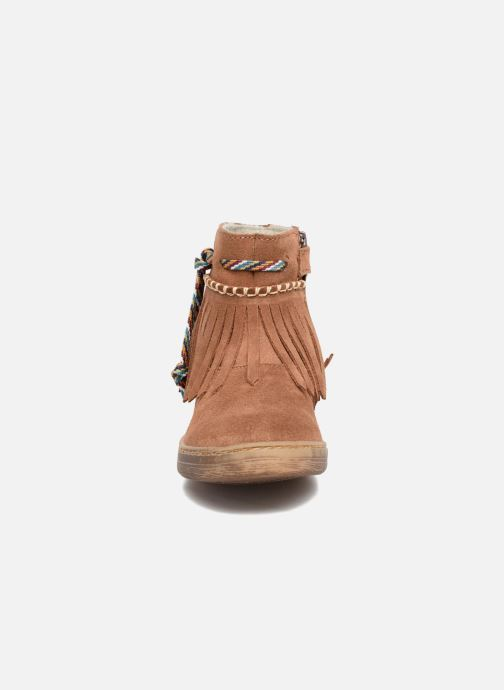Ankle boots El Naturalista E065 Kepina Brown model view