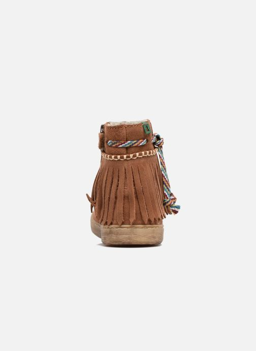 Ankle boots El Naturalista E065 Kepina Brown view from the right