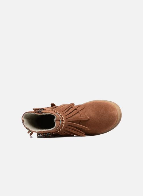 Ankle boots El Naturalista E065 Kepina Brown view from the left