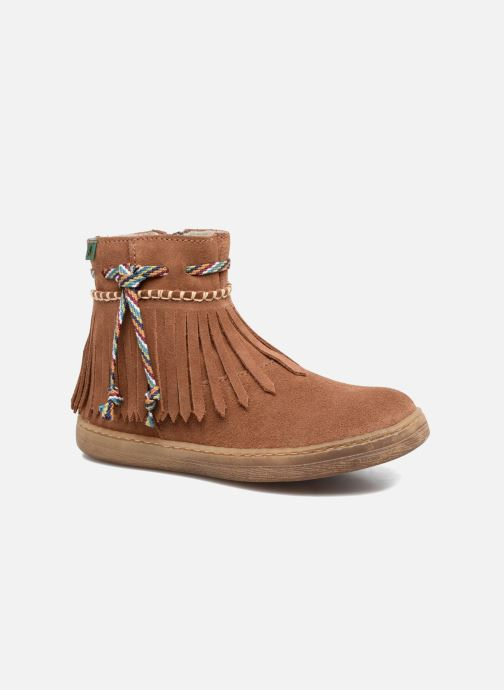 Ankle boots El Naturalista E065 Kepina Brown detailed view/ Pair view