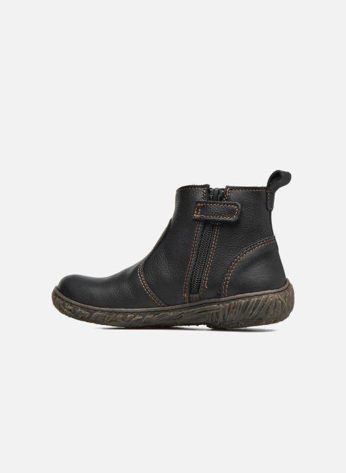 Ankle boots El Naturalista E758 Nido Black front view