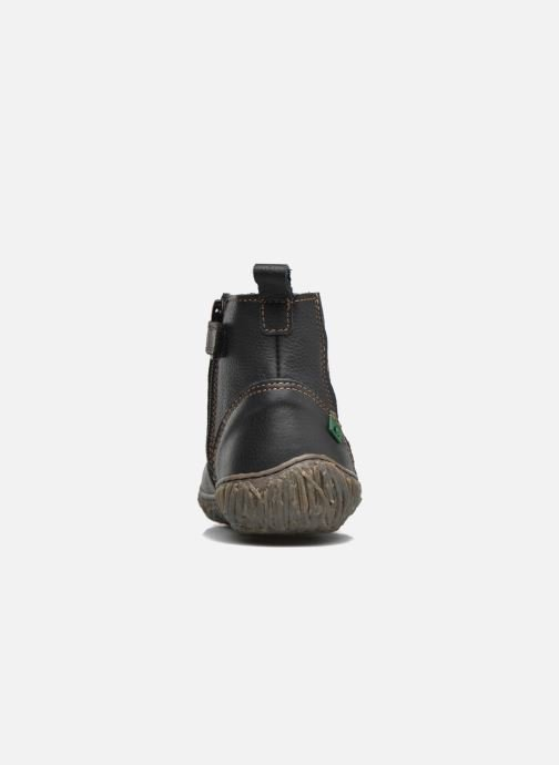 Ankle boots El Naturalista E758 Nido Black view from the right
