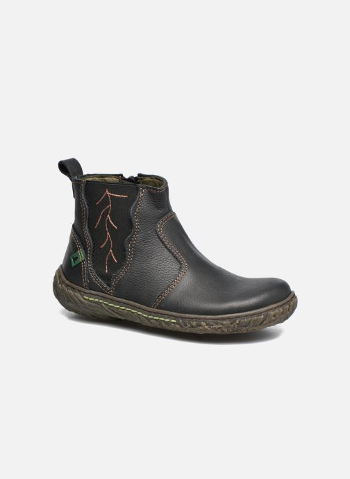 Ankle boots El Naturalista E758 Nido Black detailed view/ Pair view