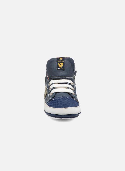 Bottines et boots Shoesme Severin Bleu vue portées chaussures