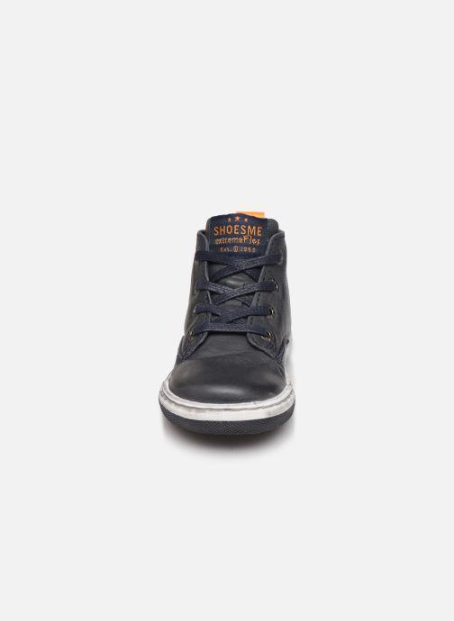Bottines et boots Shoesme Sami Bleu vue portées chaussures