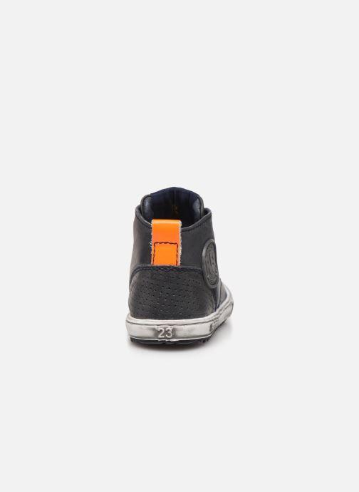 Stiefeletten & Boots Shoesme Sami blau ansicht von rechts