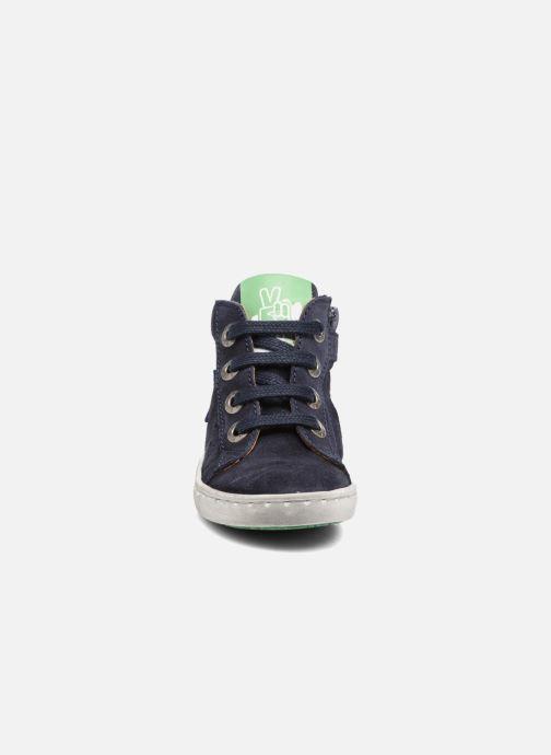 Baskets Shoesme Sébastien Bleu vue portées chaussures