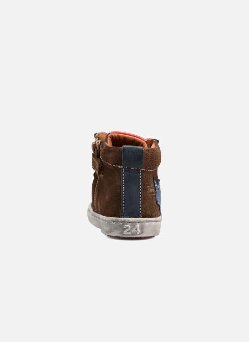 Sneakers Shoesme Sébastien Marrone immagine destra