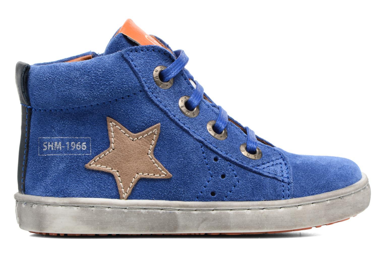 Sneakers Shoesme Sébastien Azzurro immagine posteriore
