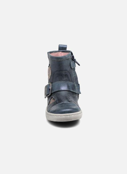 Bottines et boots Shoesme Sophie Bleu vue portées chaussures