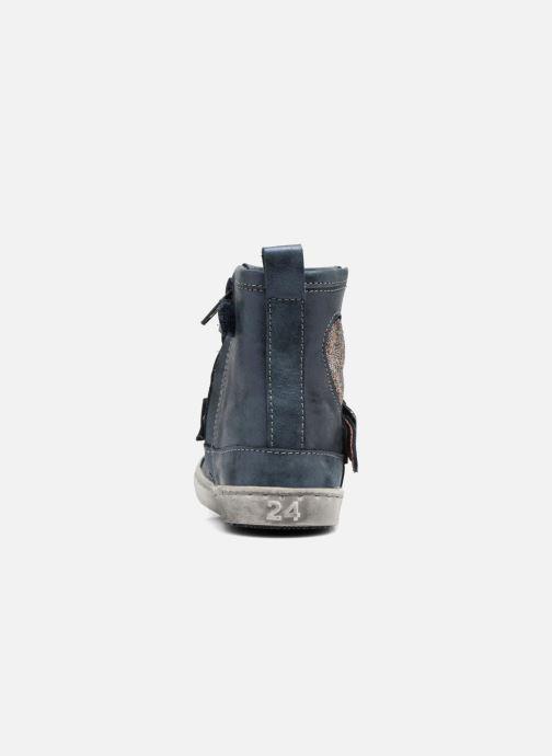 Bottines et boots Shoesme Sophie Bleu vue droite