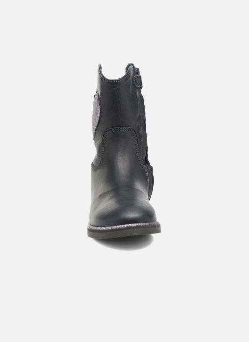 Stiefel Shoesme Sandie blau schuhe getragen