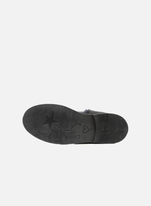 Stiefel Shoesme Sandie blau ansicht von oben