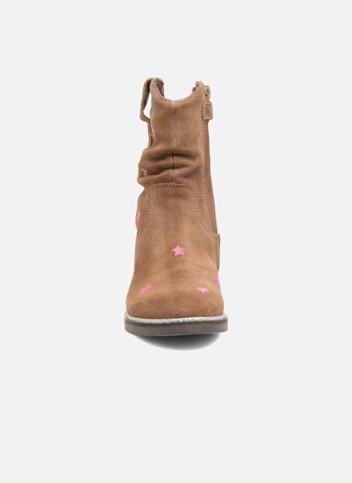 Stiefel Shoesme Sandrine braun schuhe getragen