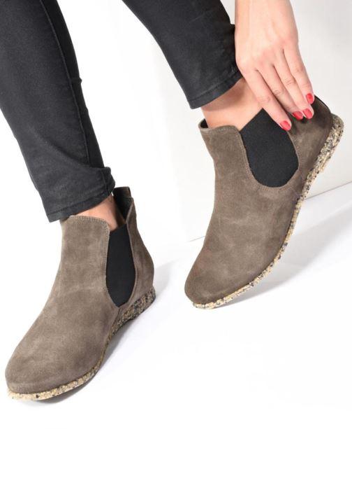 Bottines et boots Think! Shua 81035 Marron vue bas / vue portée sac