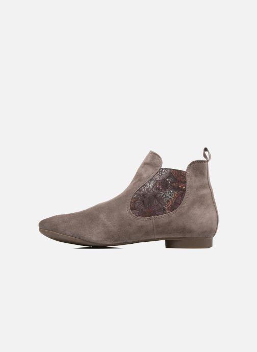 Bottines et boots Think! Guad 81295 Marron vue face