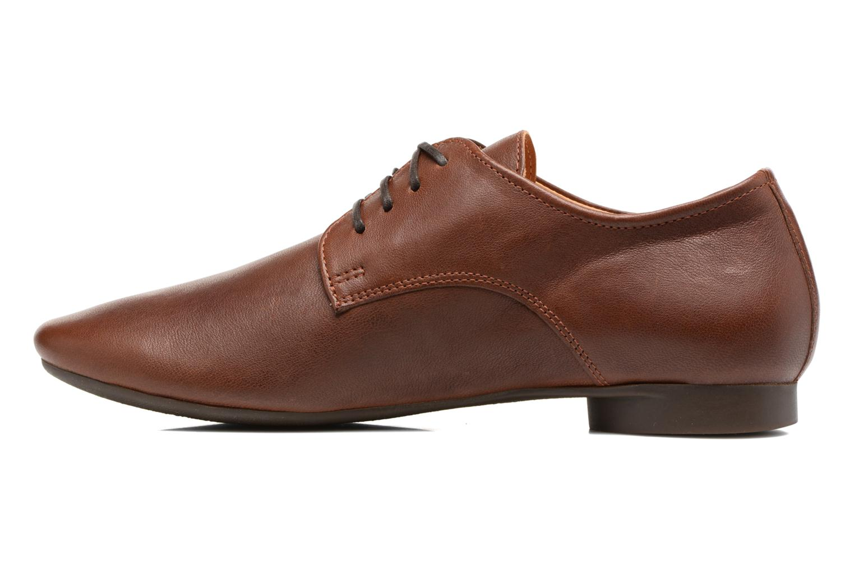 Zapatos con cordones Think! Guad 81290 Marrón vista de frente
