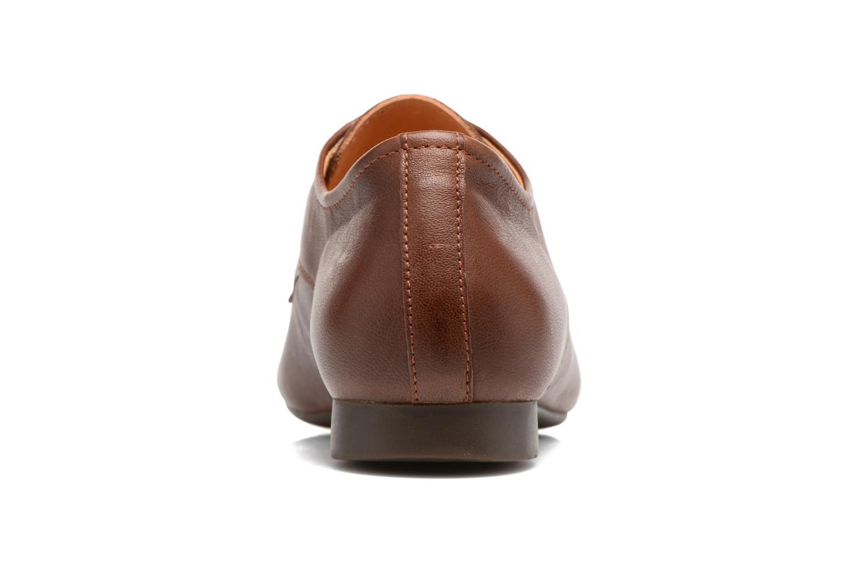 Zapatos con cordones Think! Guad 81290 Marrón vista lateral derecha