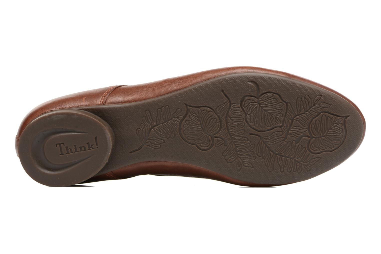 Zapatos con cordones Think! Guad 81290 Marrón vista de arriba