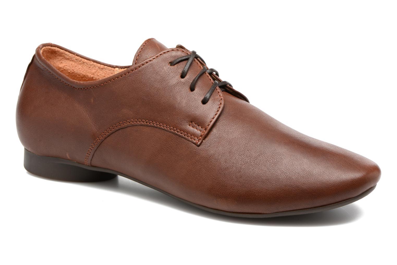 Zapatos con cordones Think! Guad 81290 Marrón vista de detalle / par
