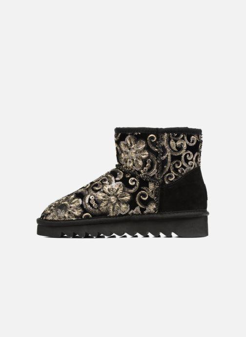Boots en enkellaarsjes Colors of California Cristina Zwart voorkant
