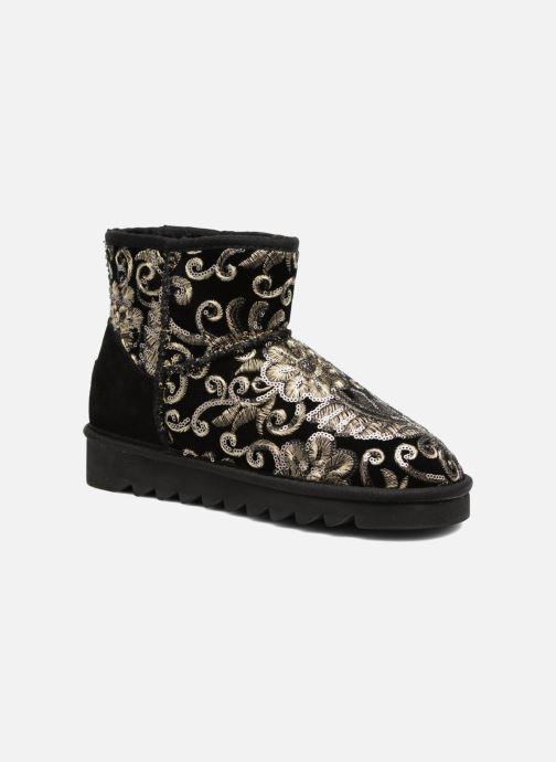 Boots en enkellaarsjes Colors of California Cristina Zwart detail
