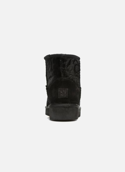 Bottines et boots Colors of California Lucia Noir vue droite