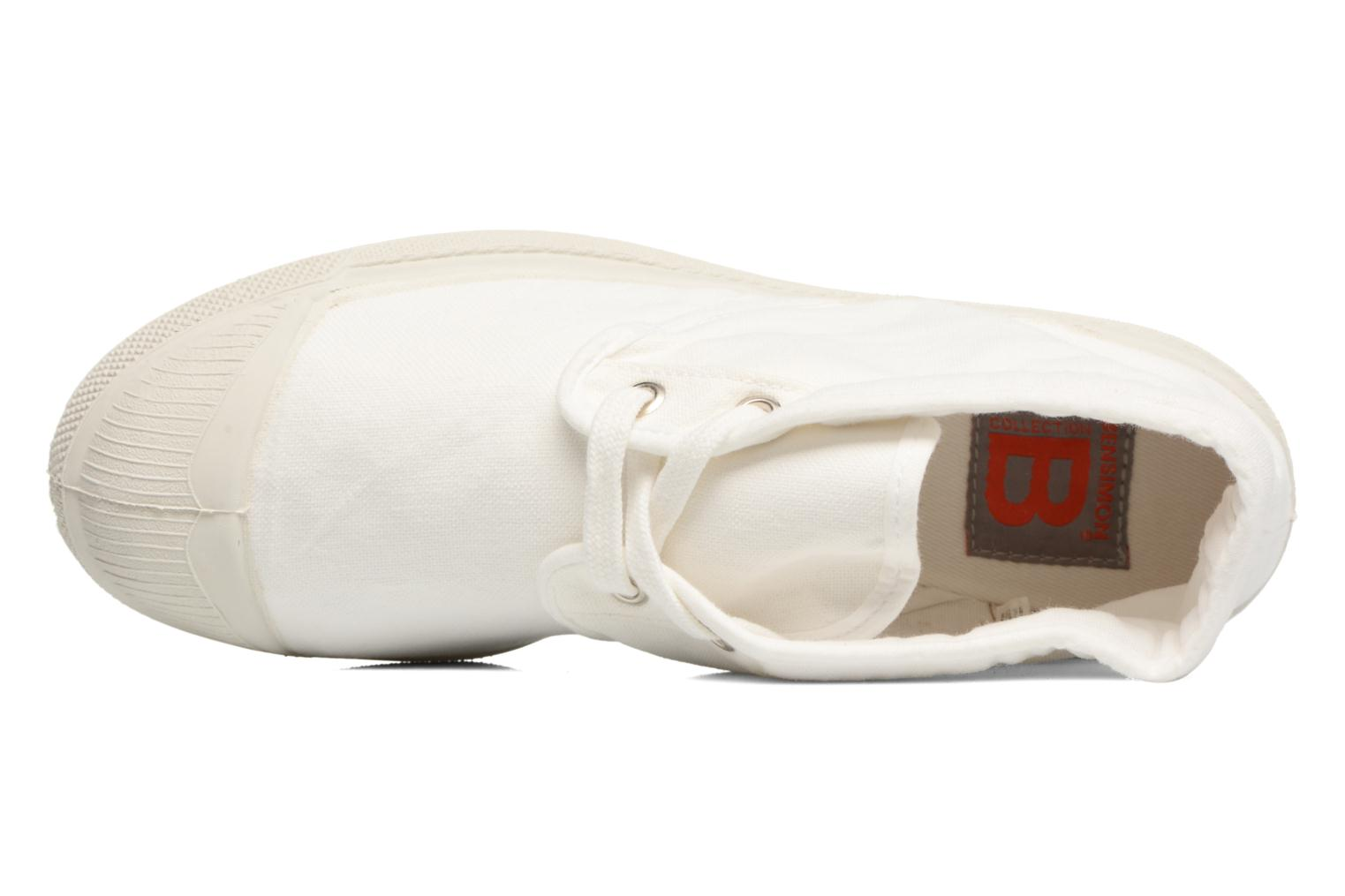 Trainers Bensimon Tennis New Nils White view from the left