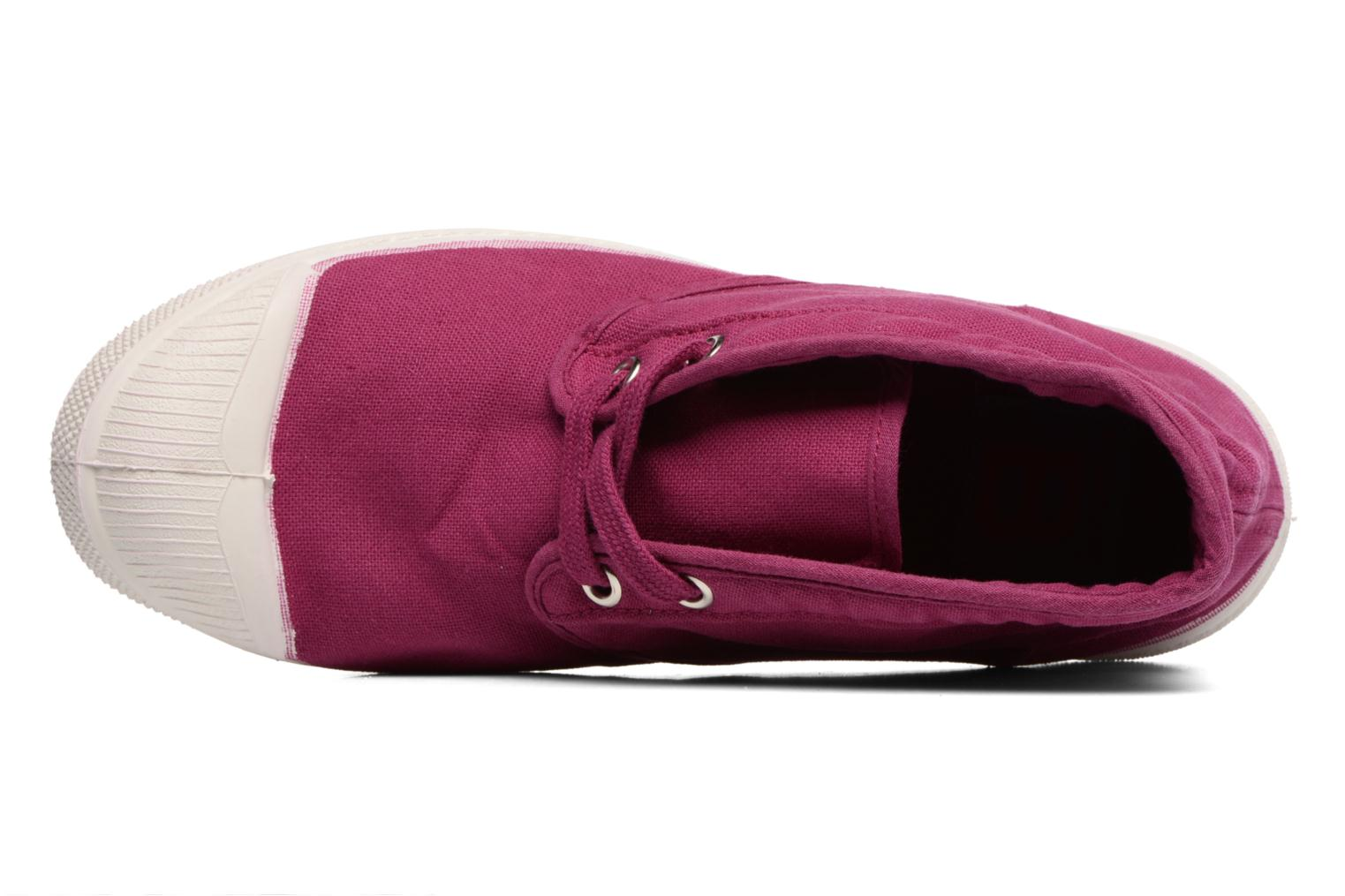Trainers Bensimon Tennis New Nils Purple view from the left