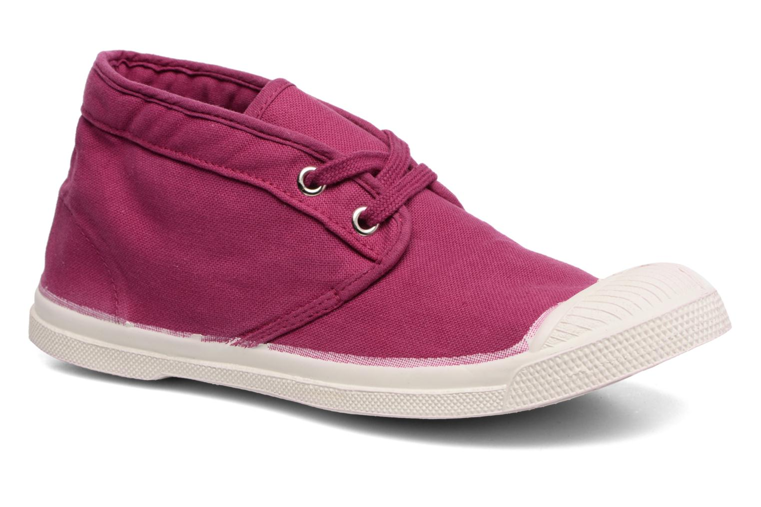 Trainers Bensimon Tennis New Nils Purple detailed view/ Pair view
