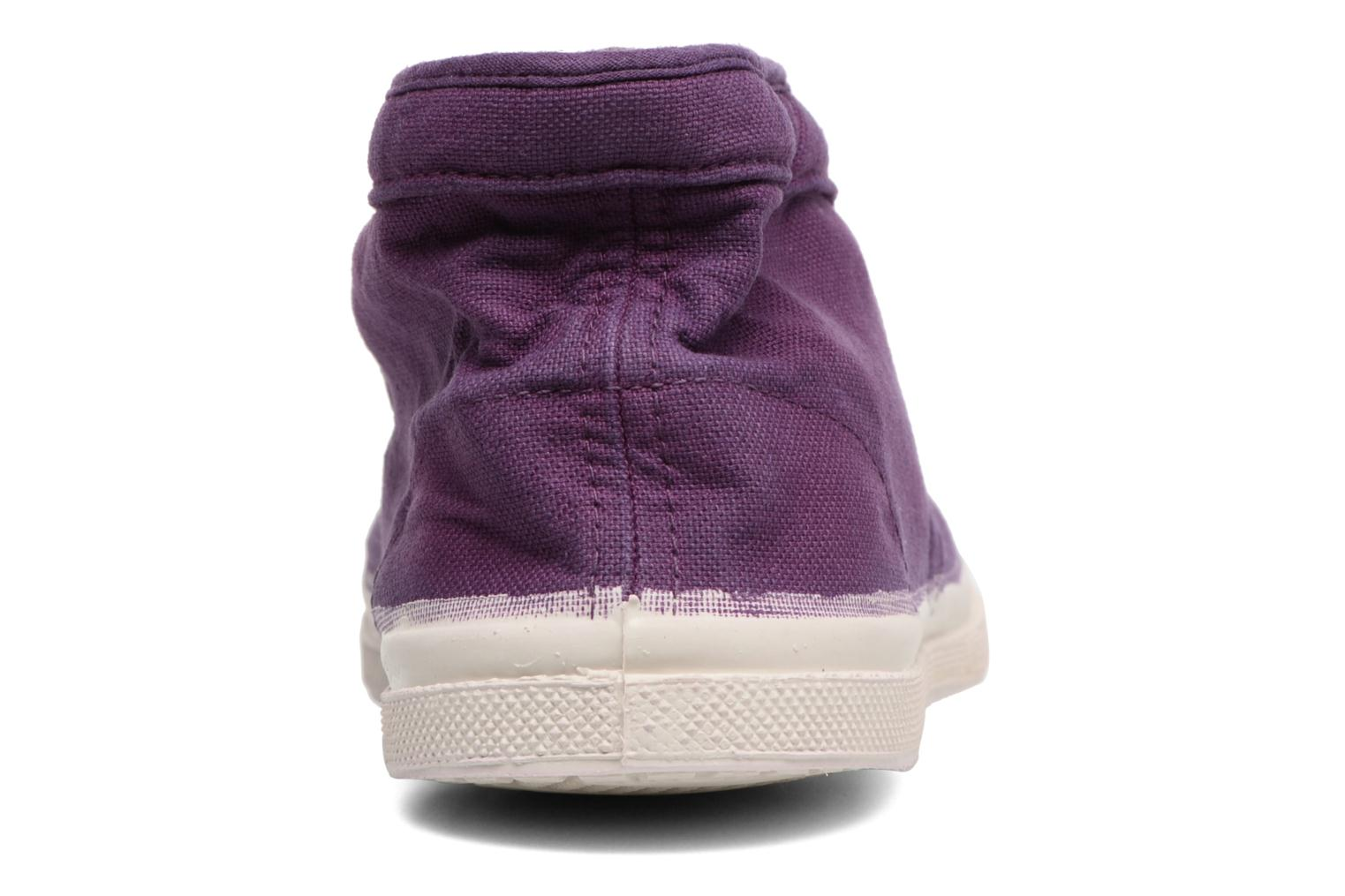 Trainers Bensimon Tennis New Nils Purple view from the right