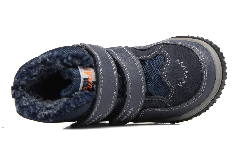 Sportschuhe Lurchi by Salamander Jaufen-Tex blau ansicht von links
