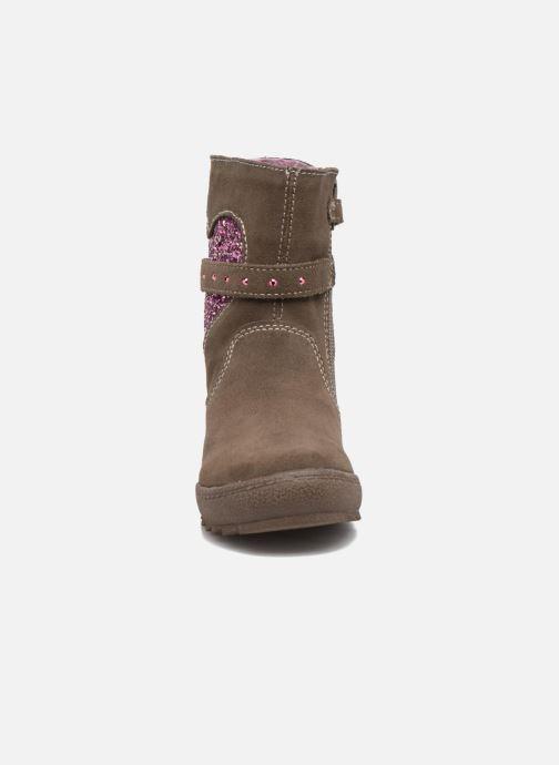 Bottines et boots Lurchi by Salamander Linni-Tex Marron vue portées chaussures