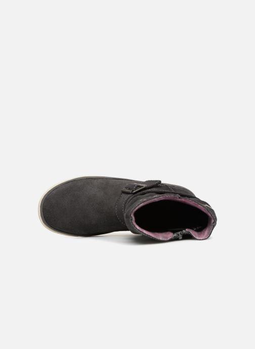 Botines  Lurchi by Salamander Cina-Tex Gris vista lateral izquierda