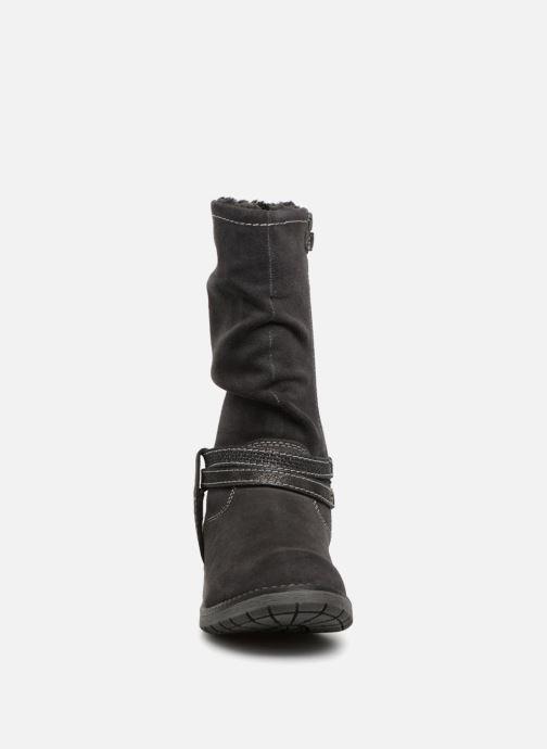Bottes Lurchi by Salamander Lia-Tex Gris vue portées chaussures