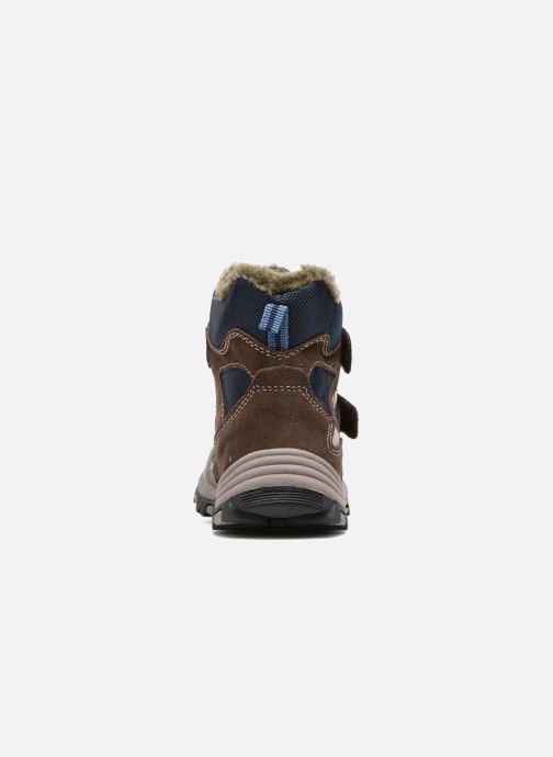 Zapatillas de deporte Lurchi by Salamander Timo-Tex Marrón vista lateral derecha