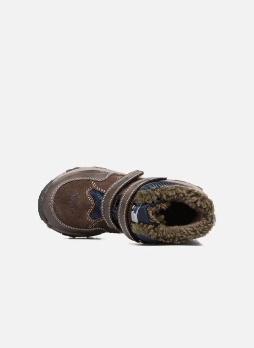 Zapatillas de deporte Lurchi by Salamander Timo-Tex Marrón vista lateral izquierda